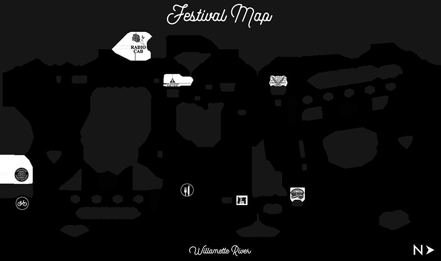 Festival Map Oregon Brewers Festival